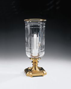 Decorative Crafts Brass Hurricane Lamp 5301