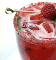 Strawberry Thai Basil Mojito