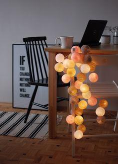 Cotton Ball Lights by pretty pleasure by Agutek