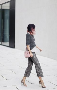 Briar cropped sweater outfit idea