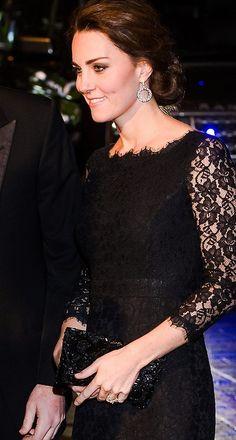 Royal Kate arriving at the Royal Variety Performance at London Palladium. November 13, 2014 - Duchess of Cambridge