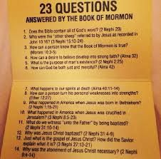 Image result for missionary scriptures to answer life questions