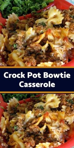 lean ground beef 1 chopped onion 1 clove of minced garlic 1 can oz.) of tomato sauce 1 o) can of stewed tomatoes 1 Ground Beef Crockpot Recipes, Crockpot Dishes, Crock Pot Slow Cooker, Crock Pot Cooking, Slow Cooker Recipes, Crockpot Meals, Casserole Recipes, Meat Recipes, Pasta Recipes