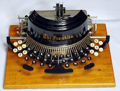Franklin 2 typewriter - 1892♥♥♥