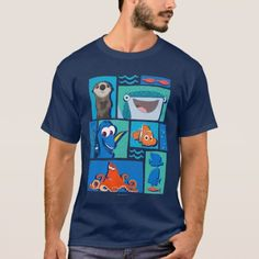 King Penguin T-Shirt - click/tap to personalize and buy Penguin T Shirt, Monkey T Shirt, Disney Shirts For Men, Shirts For Teens, Funny Sweaters, 3d T Shirts, Finding Dory, Diy Shirt, Tshirt Colors