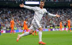 Download wallpapers Sergio Ramos, Galacticos, football stars, soccer, Real Madrid, La Liga, Ramos, footballers