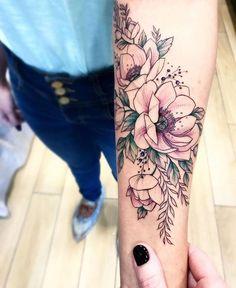 Flower  Flores  Rosas #armtattoos