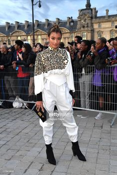 Rola attends the Louis Vuitton Womenswear Spring/Summer 2020 show as part of Paris Fashion Week on October 2019 in Paris, France. Get premium, high resolution news photos at Getty Images Tomboy Fashion, Tomboy Style, Women Wear, Spring Summer, Louis Vuitton, Street Style, Paris Fashion, Image, News