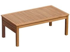 Miami Teak Coffee Table