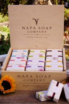 Napa Soap Display Box | craft fair