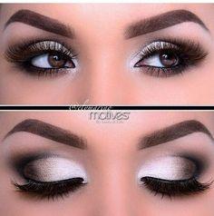 Υπέροχο μακιγιάζ ματιών σε γκρι αποχρώσεις!!! | EimaiOmorfi.gr