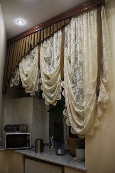 Curtains And Draperies, Shabby Chic Curtains, Farmhouse Curtains, Modern Curtains, Hanging Curtains, Kitchen Curtains, Window Curtains, Farmhouse Window Treatments, Kitchen Window Treatments