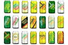 Mello Yello on Packaging of the World - Creative Package Design Gallery