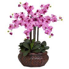 Large Mauve Phalaenopsis | Silk Flower Arrangement | Nearly Natural