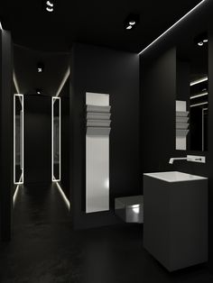 BLACK WELLNESS ZONE IN A PRIVATE APARTMENT ARSENY KERZMAN! #luxurybathrooms #