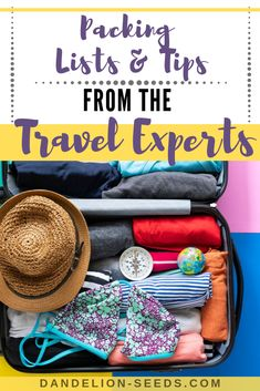 Packing for travel with kids? It's no small task! These tips from some incredible worldschoolers and full-time travelers can get your trip off on the right foot. Packing Checklist, Packing List For Travel, Packing Tips, Toddler Travel, Travel With Kids, Family Travel, Airplane Activities, Flying With A Baby, Potty Training Tips