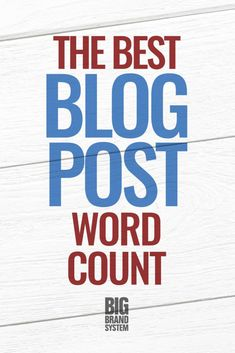 It's smart to know the best blog post length before you start writing — that way, every word counts! Discover how to figure out what word count to aim for in every piece of online content you write. #onlinecontent #bloggerlife #contentmarketing #blogging