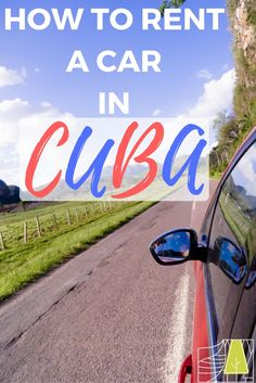 How to rent a car in Cuba. Tips for car rental companies in Cuba and things to be aware of. Travel News, New Travel, Travel Goals, Travel Advice, Travel Guides, Cheap Countries To Travel, Countries To Visit, Traveller's Tales, Car Rental Company