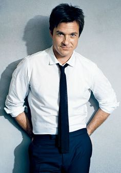 jason bateman rocking a tie like nobody's business.