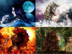 I got: Godess of Water. Are you the goddess of water, fire, earth, or air?