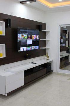 Lcd panel design collection 10 - lsdunia Lcd Wall Design, Lcd Unit Design, Modern Tv Unit Designs, Modern Tv Wall Units, Modern Tv Cabinet, Cupboard Designs For Hall, Living Room Tv Cabinet Designs, Tv Cupboard Design, Wall Wardrobe Design