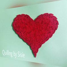 All about Love   Quilling Love by Sisie Ummu Aisyah ...