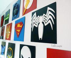 Deadpool Dibujos Animados-Madera Coaster-Cnc Laser Grabado-Marvel Deadpool