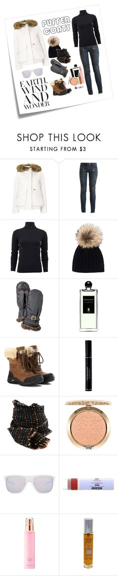 """Weekend Attire : Winter, Wonder, Wanderlust"" by katieparker3 ❤ liked on Polyvore featuring Post-It, Woolrich, Balmain, Wolford, Inverni, Hestra, Serge Lutens, UGG, Christian Dior and Faliero Sarti"