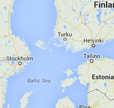 Stockholm to Helsinki Ferry Crossing - Ferry information