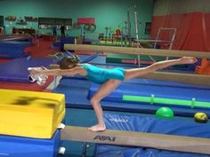Today I wanted to share some drills for handstands and dismounts on beam. Levering is one of the most common deductions I see, and also makes a huge difference Gymnastics For Beginners, Gymnastics Lessons, Gymnastics Academy, Preschool Gymnastics, Gymnastics Floor, Gymnastics Tricks, Gymnastics Coaching, Amazing Gymnastics, Gymnastics Training