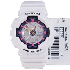 CASIO BA-110SN-7ADR Baby-G Analog Digital Watch 3d7263de45