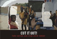 Cut Child Labour Out! by Will, 18,NSW by World Vision Aus - STIR, via Flickr