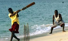 Cricket on the beach with some Grenadians. In my experience, you can go to people playing sports anywhere in the world, whether it be cricket in India, squash in Canada, or cricket in Grenada and ask to join in, and you will always be welcomed.