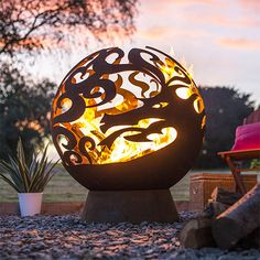 Fireglobes and they are making an appearance in gardens around the world