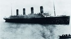 The last photo of the Titanic taken