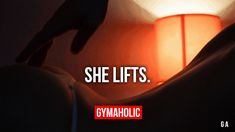 "gymaaholic: "" She Lifts. Appreciate her shapes. http://www.gymaholic.co """