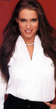 Just couldn't help myself... Stephanie Mcmahon used to be my idol! haha still love her!