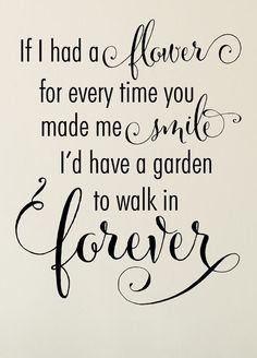 Garden to Walk in Forever Decal