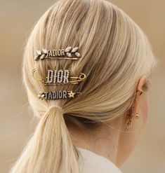 Clip Hairstyles, Fancy Hairstyles, Everyday Hairstyles, Vintage Hairstyles, Wedding Hairstyles, Dior, Hair Inspo, Hair Inspiration, Haute Couture