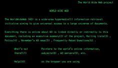 Rivoluzione web, 25 anni fa il primo sito per tutti
