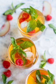 Homemade Peach Ice Tea. Simple and absolutely perfect for the summertime, this cooling drink will leave you feeling refreshed and rejuvenated!