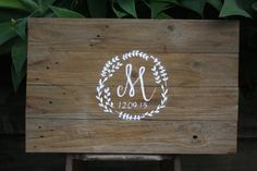 Personalised timber Wedding sign by Kaivalyadesigns on Etsy
