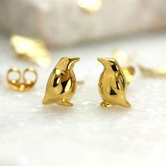 Penguin earrings from Jana Reinhardt