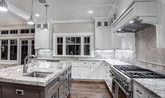 Granite Worktops - Contemporary Kitchens