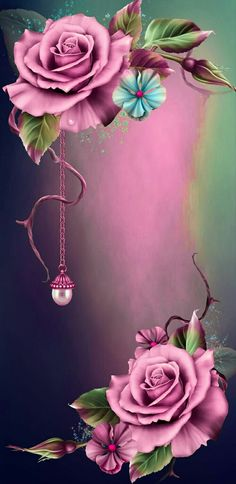 Power Wallpaper, Skull Wallpaper, Pink Wallpaper Iphone, Colorful Wallpaper, Cool Wallpaper, Phone Wallpapers, Wallpaper Backgrounds, Beautiful Roses, Beautiful Flowers