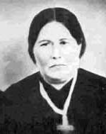 Marie-Therese-Rose Grant-Breland (Métis), born 1820 to Cuthbert Grant Jr. and Marie-Madeleine Desmarais; married Pascal Breland in 1836 at St. Francois-Xavier; died 1889 St. Francois-Xavier.