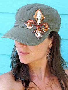 Fleur de Lis Hat