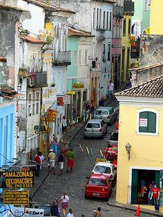 World Travel Photo: Salvador, Bahia, Brasil Rio Grande Do Norte, Central America, South America, Great Places, Places To See, Beautiful Places, Bahia Brazil, Portuguese Language, Brazil Travel
