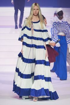 Jean Paul Gaultier Spring Summer 2020 Haute Couture fashion show at Paris Couture Week (January Jean Paul Gaultier, Paul Gaultier Spring, Fashion Week, Fashion 2020, Runway Fashion, High Fashion, Fashion Outfits, Vogue Fashion, Fall Fashion