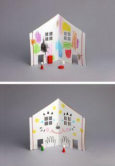 The Dollhouse Book / Rock & Pebble